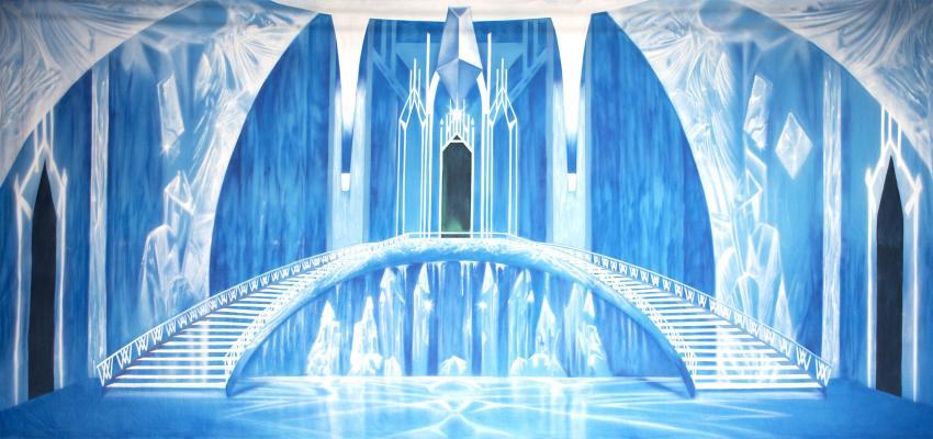 ice castle wallpaper