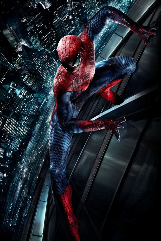 The Spider Man iPhone 4 Wallpaper and iPhone 4S Wallpaper 640x960