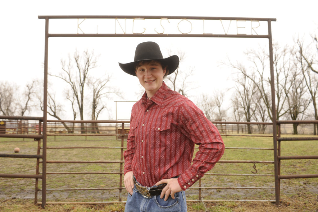 Ticket to ride McLouth teen makes name in bull riding circuit 1024x681