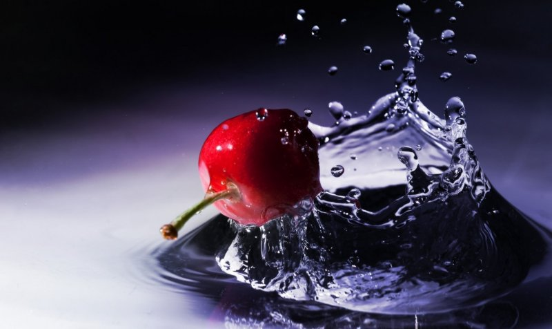 digital backgrounds   3d live wallpapers Red Apple 800x476