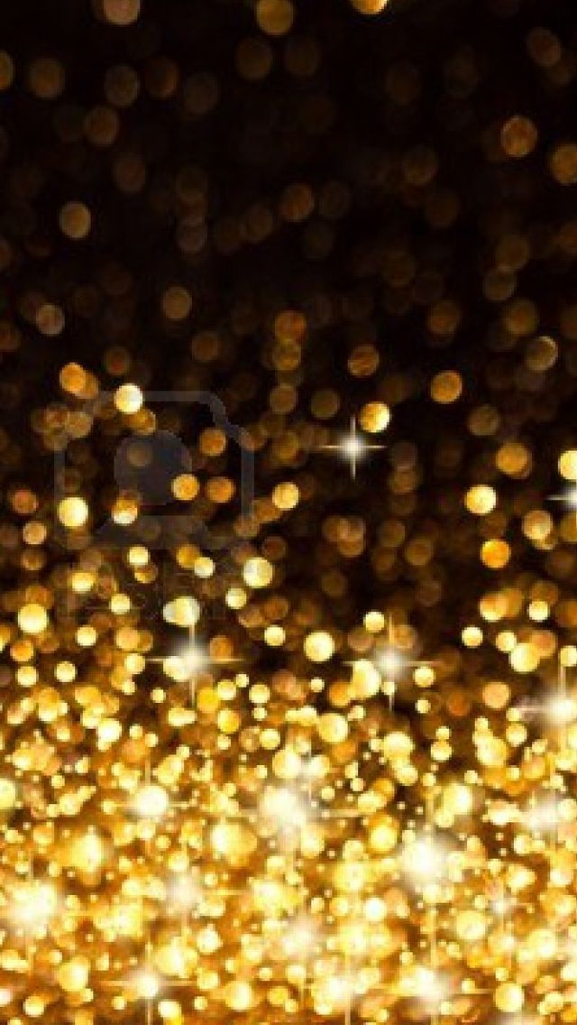 iPhone 5 wallpaper   gold sparkly glitter festive iPhone 5 640x1136