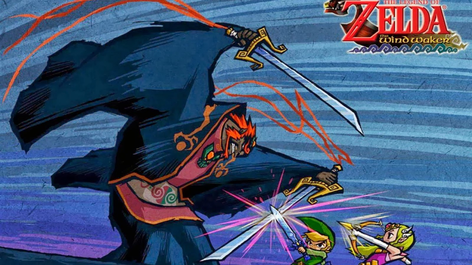 Free Download Wind Waker Wii U Wallpaper Zelda Wind Waker Hd Wiiu