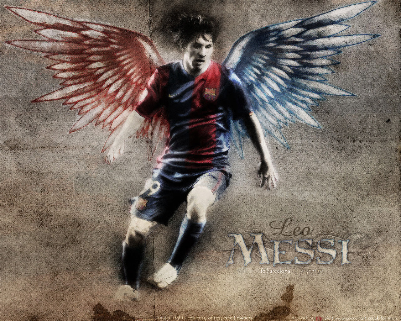 Leo Messi Exclusive HD Wallpapers 284 1280x1024
