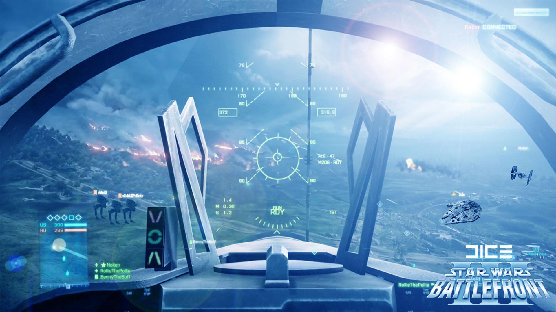 STAR WARS BATTLEFRONT sci fi spaceship i wallpaper 1920x1080 1920x1080
