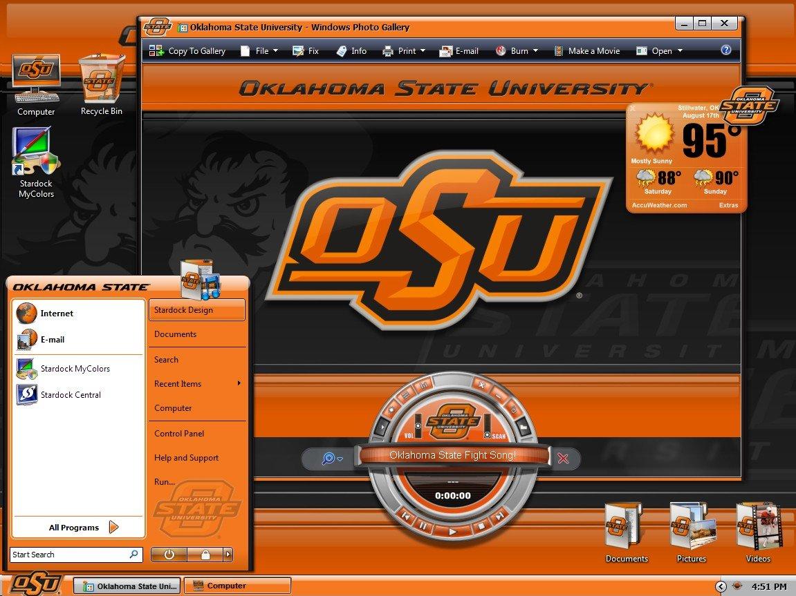 Oklahoma State University 2015 Football Schedule Wallpaper