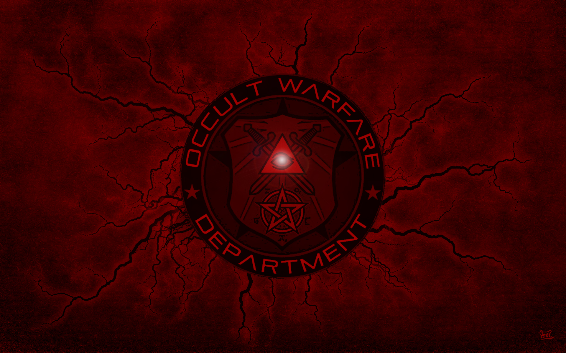 Dark   Occult Wallpaper 1920x1200