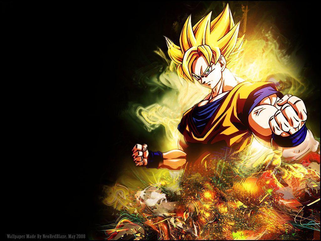 Dragon Ball Z Goku Wallpapers 1024x768