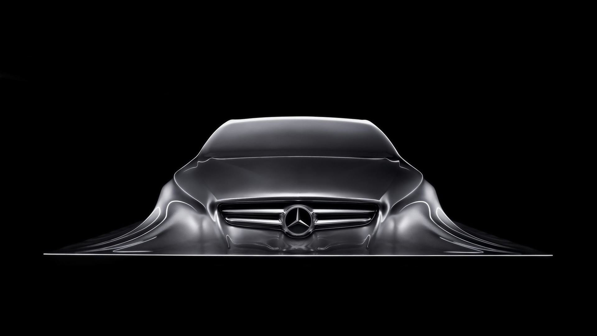 Special Mercedes Benz Logo Wallpaper Full HD Pictures 1920x1080
