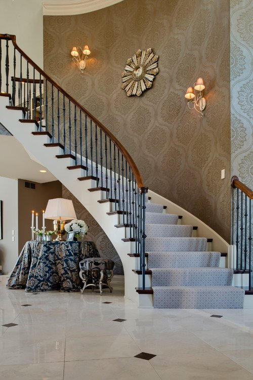 47 Wallpaper For Stairway Walls On