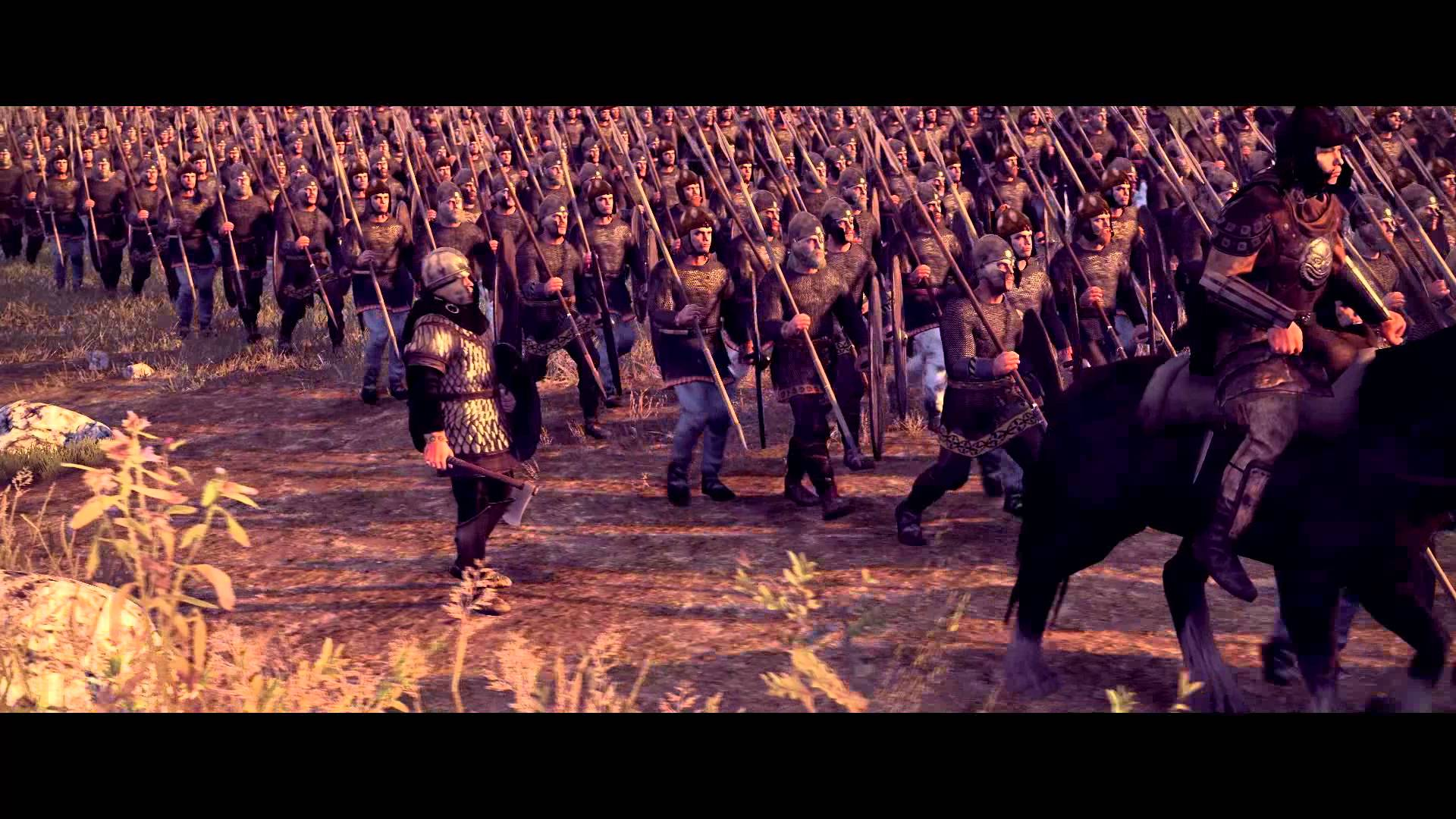 Total War ATTILA The Black Horse Cinematic Trailer Static 1920x1080