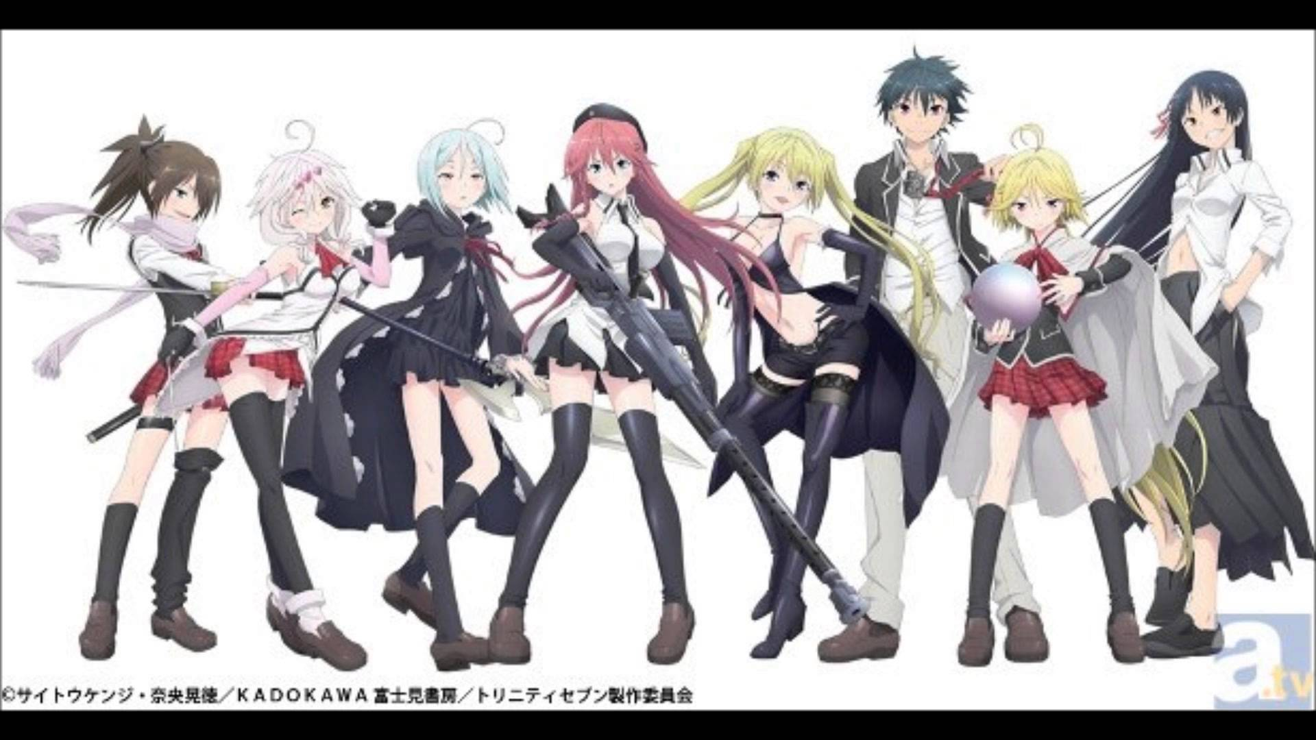 Trinity 7 Anime Characters : Trinity seven wallpaper wallpapersafari
