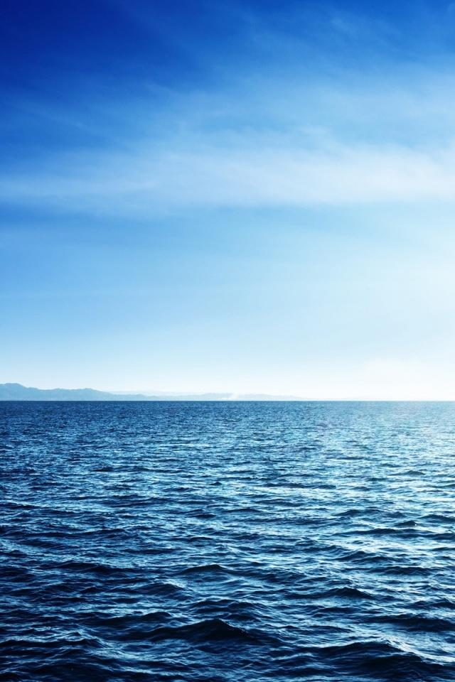 640x960 Blue Ocean Iphone 4 wallpaper 640x960