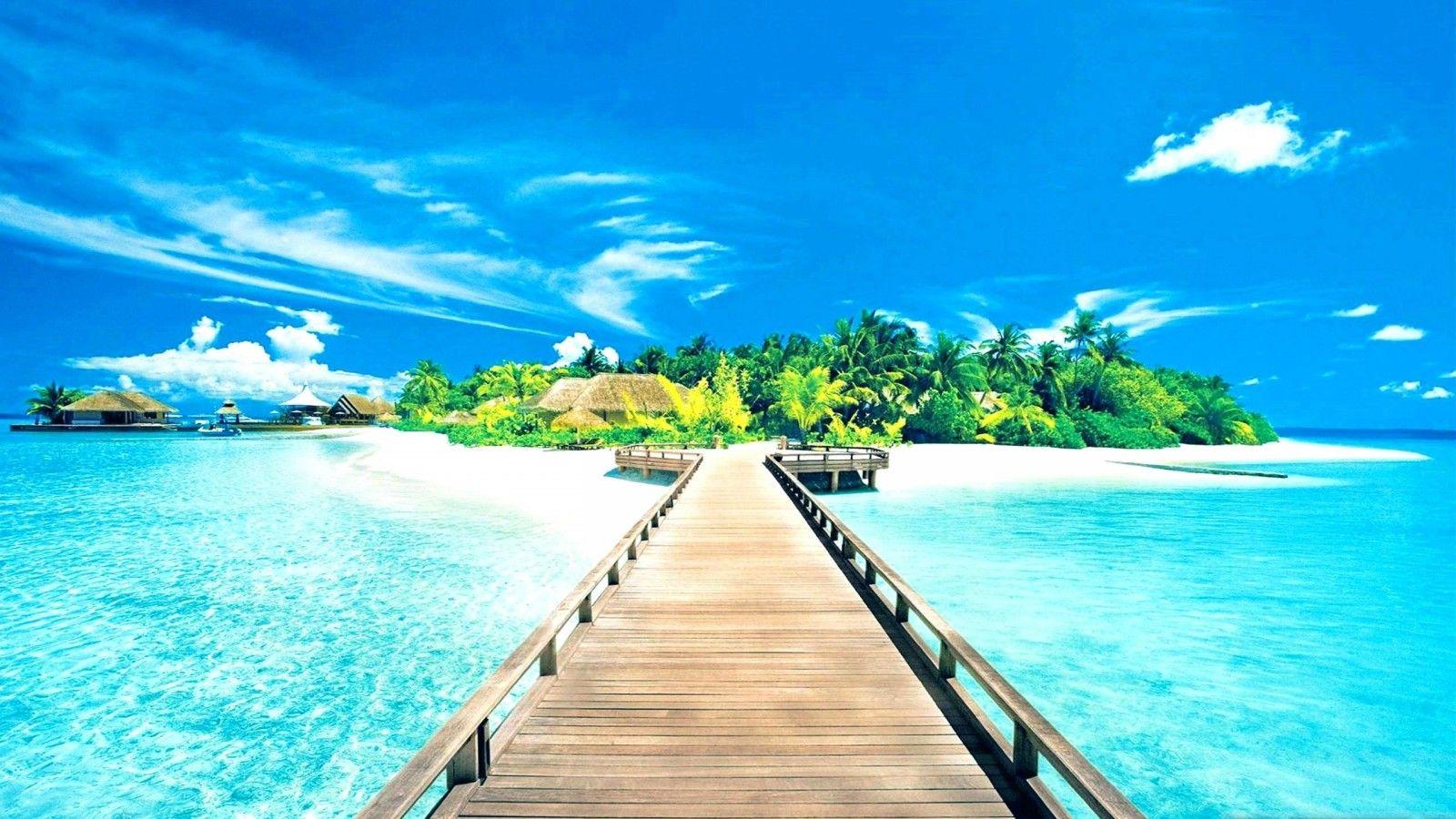 45 Beach Scene Wallpapers   Download at WallpaperBro 1600x900