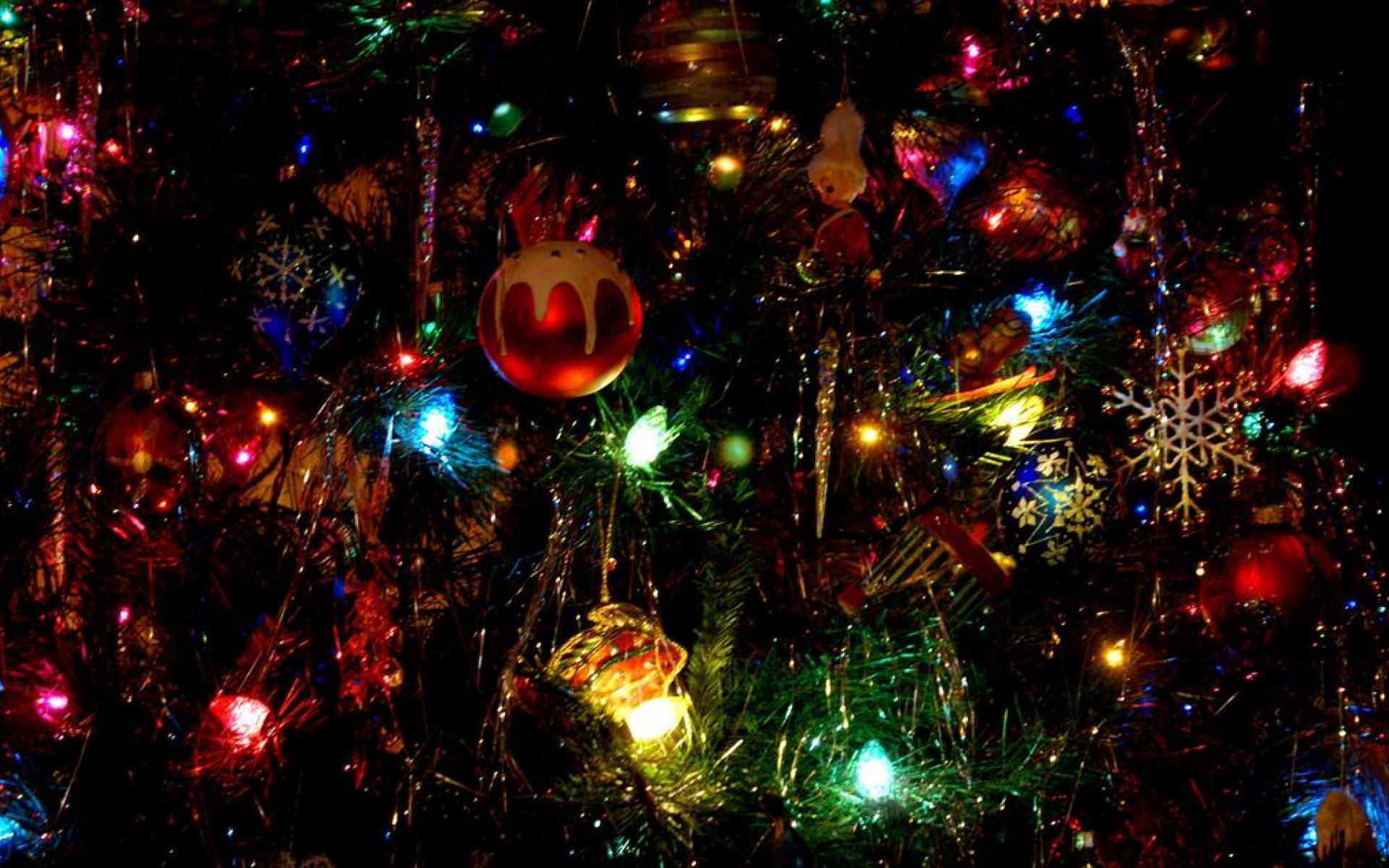 100 Holiday Lights Desktop Wallpaper Hd Wallpapers: HD Christmas Lights Wallpaper