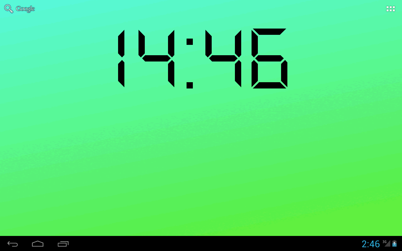 Free Download Digital Clock Live Wallpaper Android Apps On