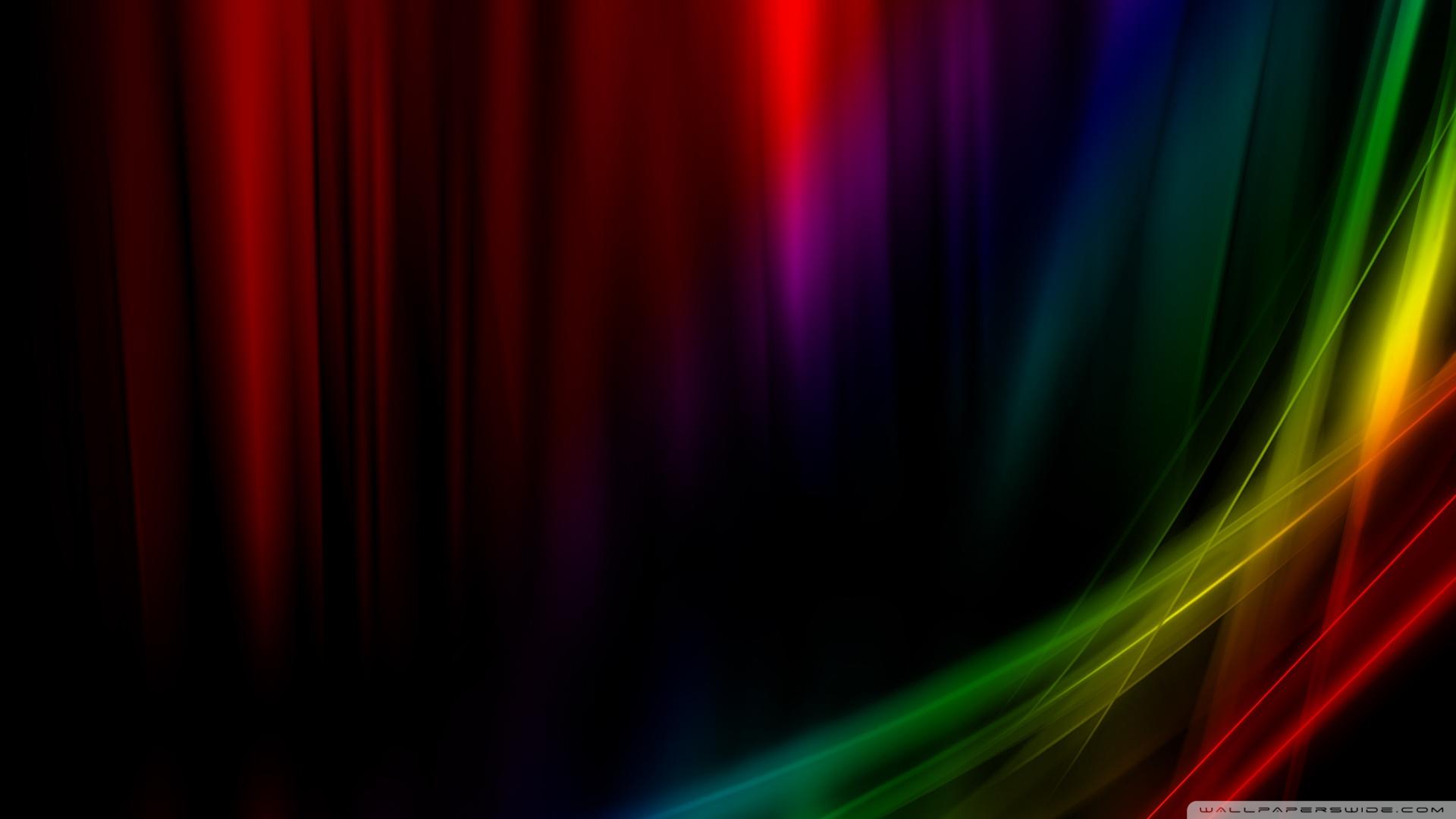Rainbow Aurora Vista 4K HD Desktop Wallpaper for 4K Ultra HD TV 1920x1080