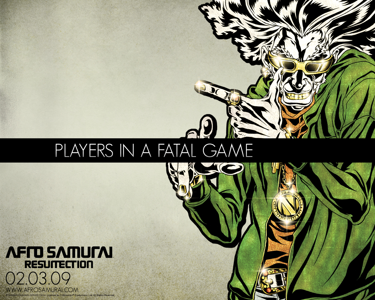 Picture Afrosamuray Resurrection Afro Samurai Resurrection film 1280x1024