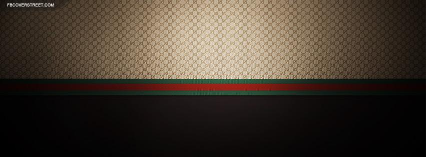 Smooth Gucci Pattern Wallpaper 851x315
