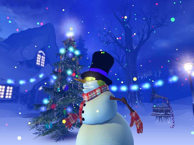 3PlaneSoft Christmas 3D Screensaver V10 640x480
