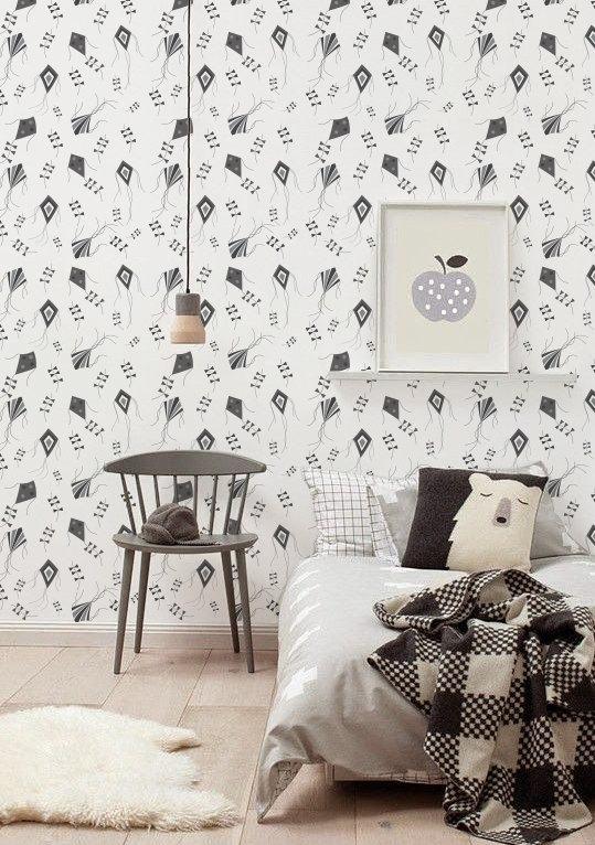 Peel and Stick Self adhesive vinyl wallpaper wall decal   Kite 539x766