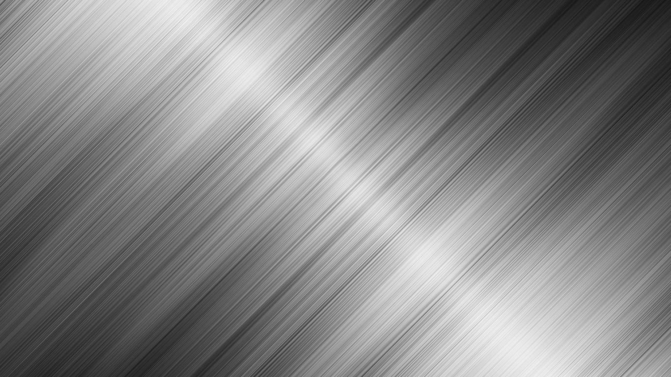 Download HD Silver Stripe Metallic Color Wallpaper WallpapersByte 1366x768