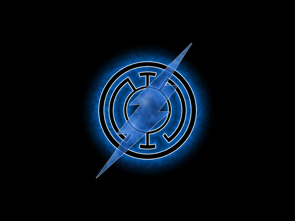 Blue Lantern Symbol Wallpaper Blue lantern flash by 1024x768