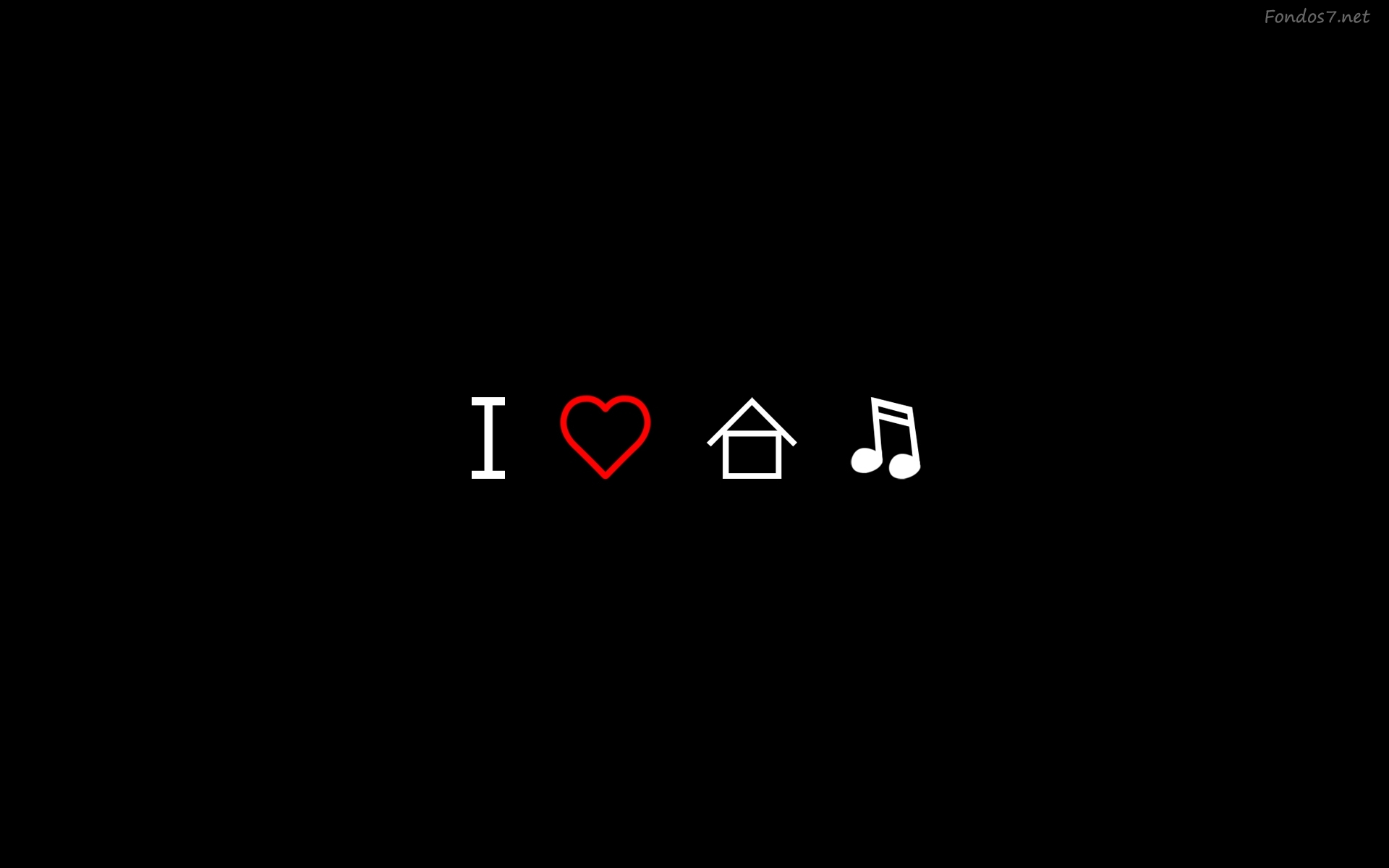 I love house music wallpapers wallpapersafari for Jack house music