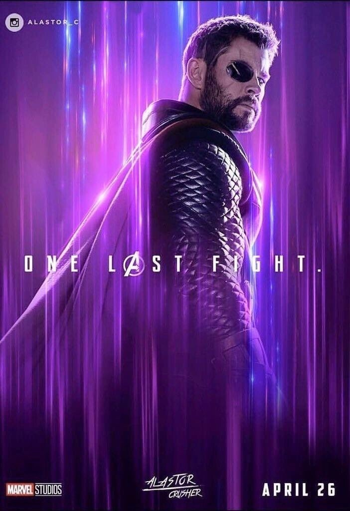 Avengers Endgame poster 26 on We Heart It 702x1024