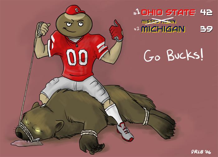 Ohio State vs Michigan 2006 by Kobb 700x505