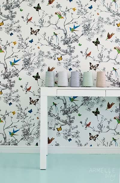 Birds And Butterflies Wallpaper Wallpapersafari