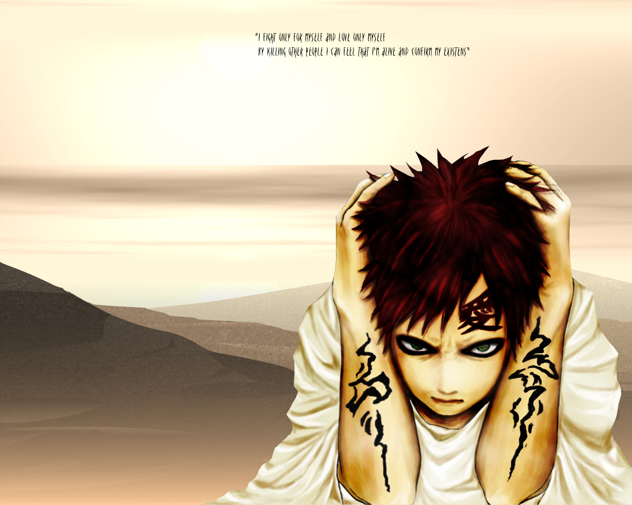 Naruto and gaara wallpaper animebay wallpapers Chainimage 1280x1024