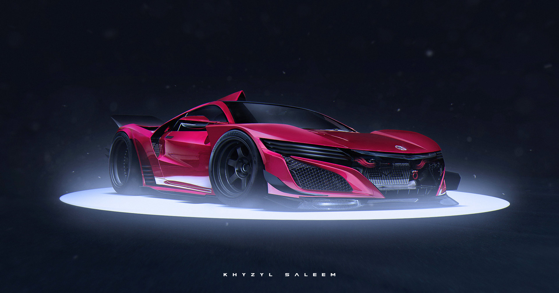 Super GT inspired render of the new NSX Also my new desktop 1920x1007