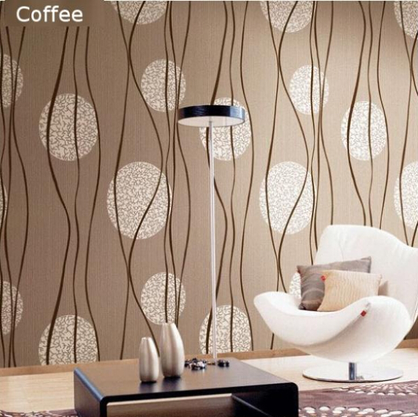Metallic wallpaper for room wallpapersafari for Papel pintado ka internacional