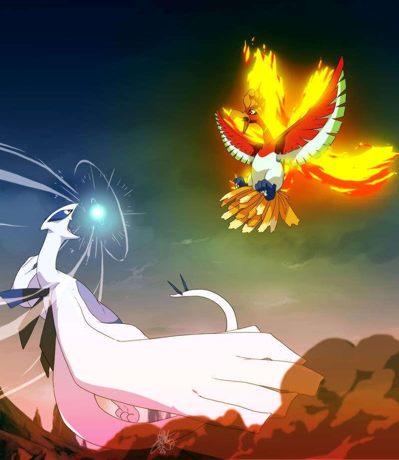 Lugia Ho Oh   Legendary Pokemon Photo 14116966 800x923