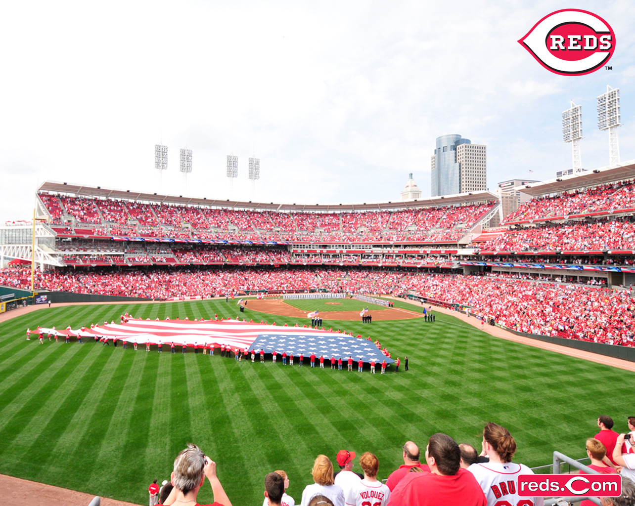 Desktop Wallpapers Cincinnati Reds 1284x1024
