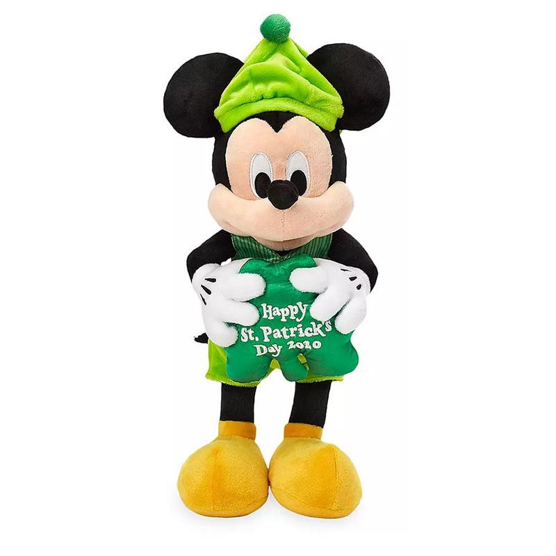 Disney Plush   Mickey Mouse   Happy St Patricks Day 2020   12 800x800