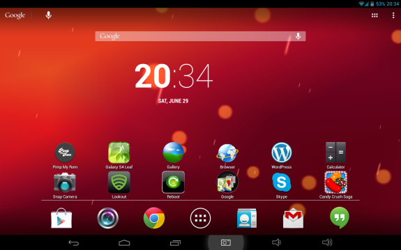 taken from the phone and tablet running the live wallpaper SunBeam 575x359