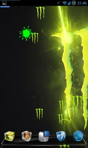 Monster energy wallpaper for android wallpapersafari 307x512 download monster energy live wallpaper for android by zori soft voltagebd Images