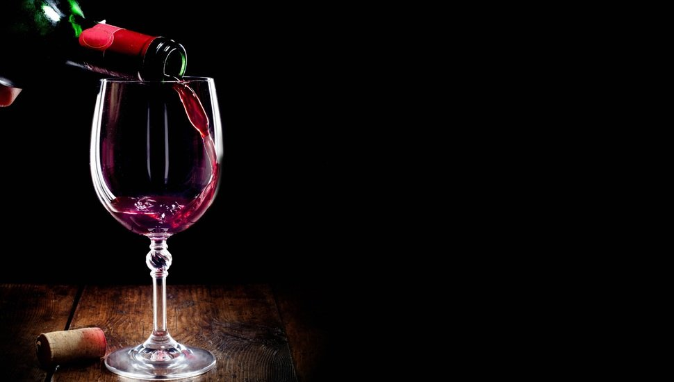 black background wine glass bottle tube red wallpaper and 970x550