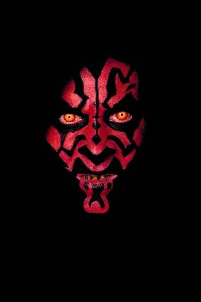 Star Wars   Darth Mal iPhone Wallpaper 640x960