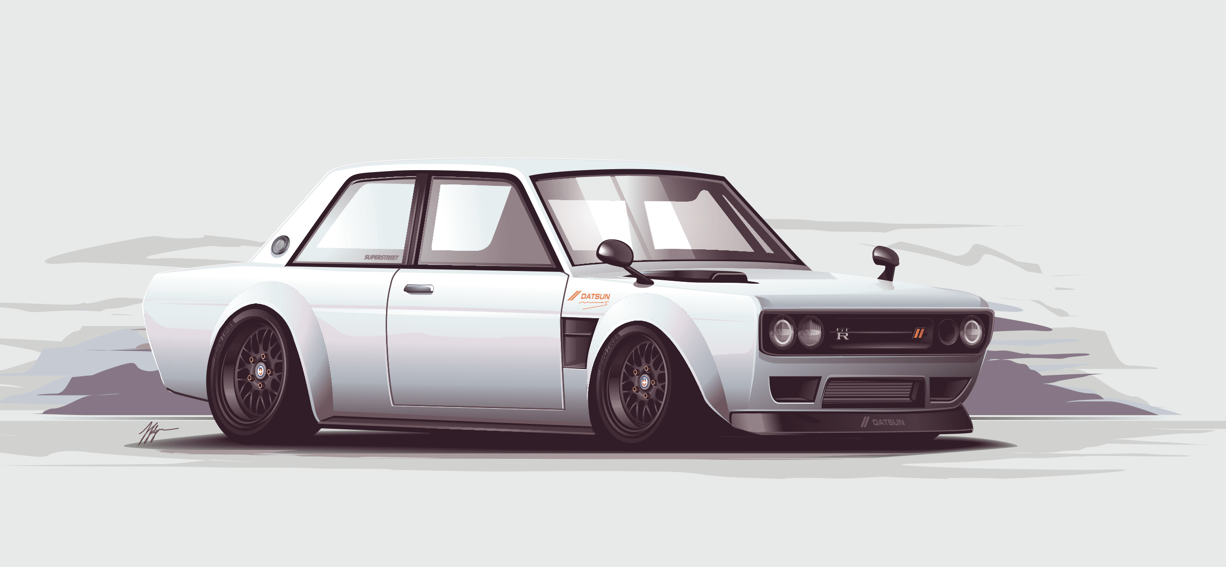 Datsun 510 Wallpapers 2490x1153