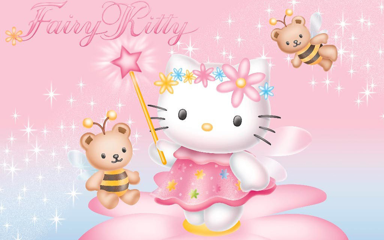 Free Hello Kitty [ ] For Your Desktop