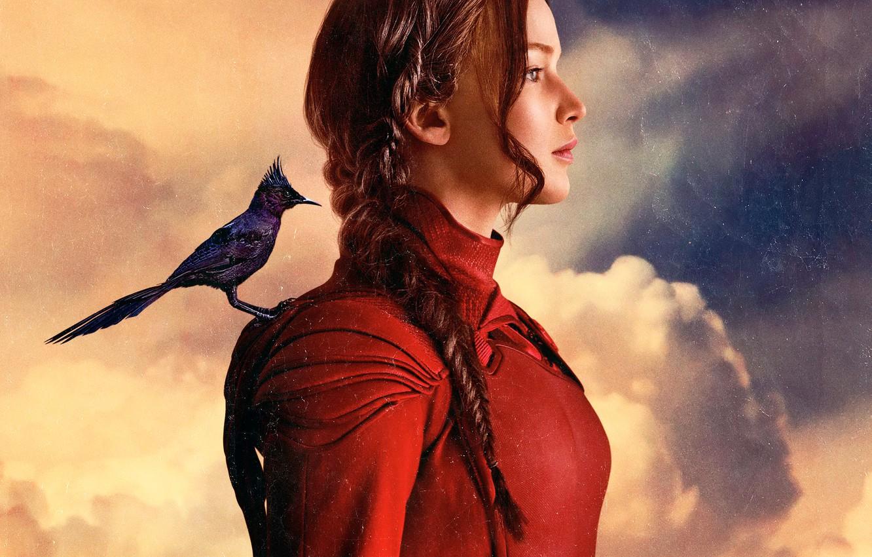 Wallpaper Jennifer Lawrence Katniss Everdeen The hunger games 1332x850