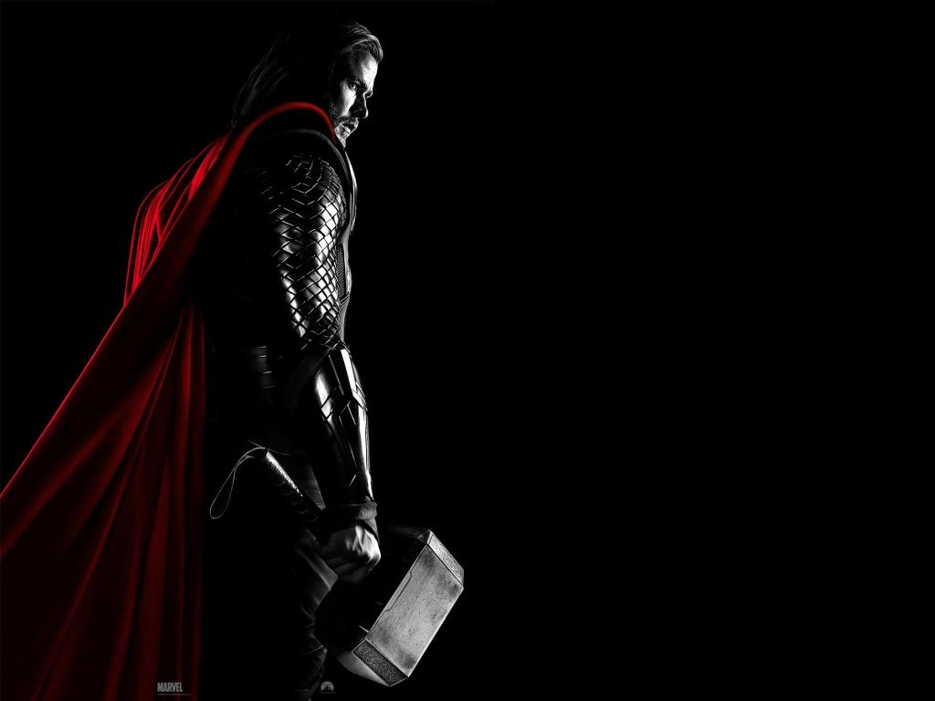 To Download Thor Movie wallpaper click on full size and then right 1024x768