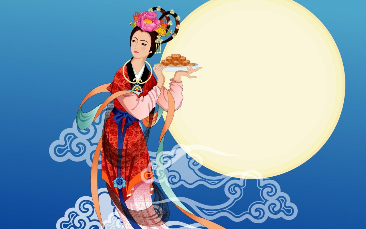 Moon Goddess   1   Wallpapers   FreezeWall 1280x800