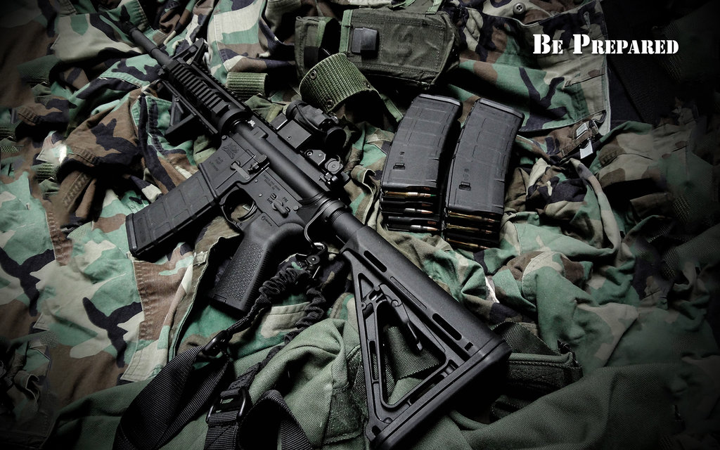 ar 15 be prepared wallpaper by dhrandy d6xhw1kjpg 1024x640