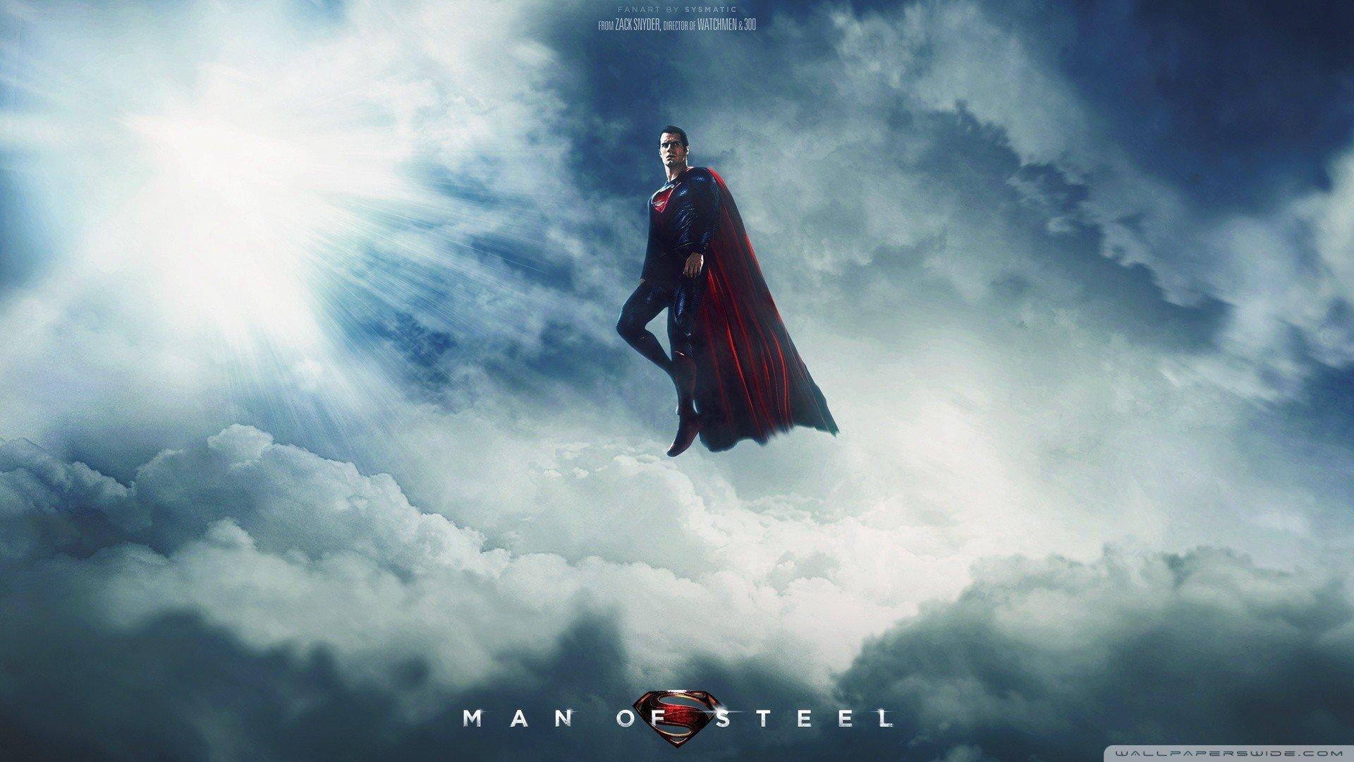 Man Of Steel Wallpaper Desktop - WallpaperSafari