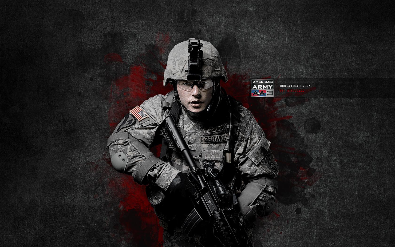 Download wallpaper wallpapers for desktop american soldier american 1680x1050