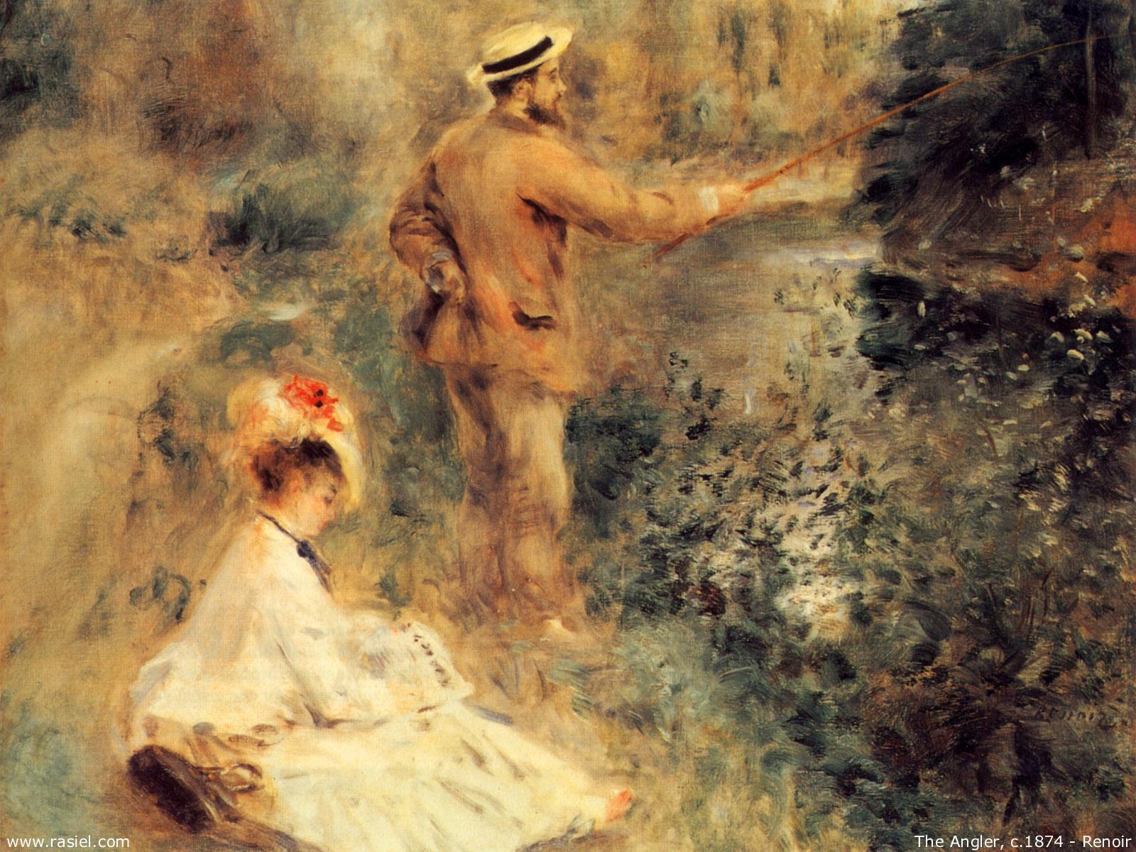 Renoir wallpaper wallpapersafari for Auguste renoir