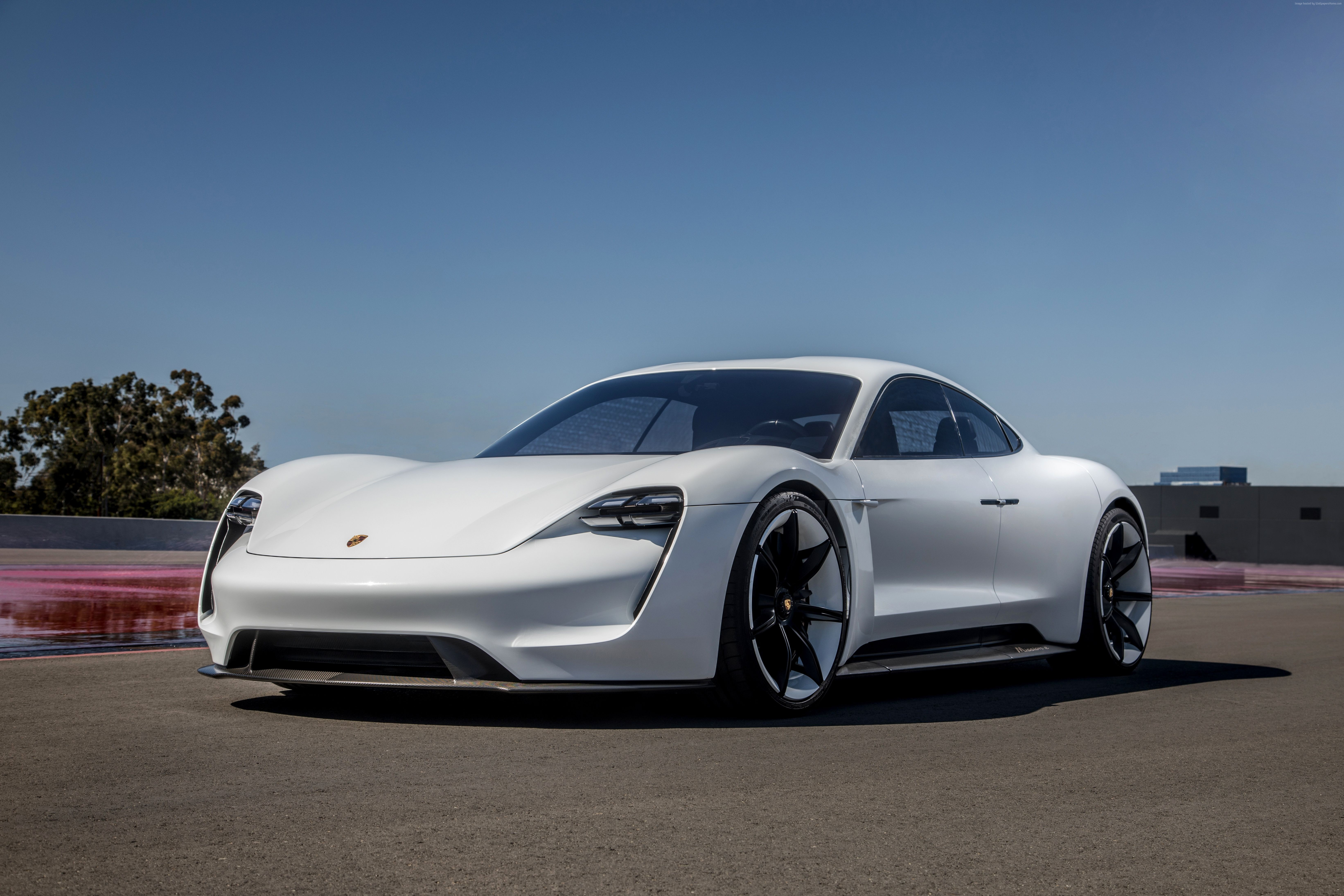 100824 4K Porsche Taycan supercar 2020 Cars Electric Car 6568x4379